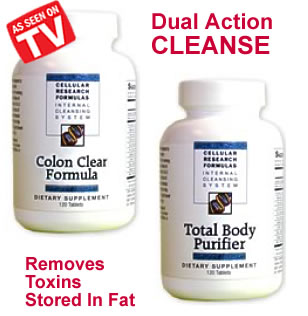Dual-action-cleanse