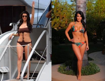 Kardashian  on Kim Kardashian Before Quicktrim